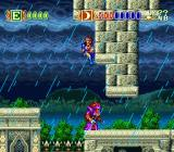 Skyblazer SNES Death from above