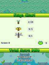 Frogger: Beats n' Bounces J2ME Level completed
