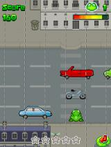 Frogger: Beats n' Bounces J2ME It's no real <i>Frogger</i> if you can't be hit by a car