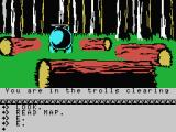 The Hobbit MSX Trolls clearing