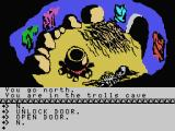 The Hobbit MSX Trolls cave