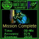 Tom Clancy's Rainbow Six: Raven Shield J2ME Mission completed