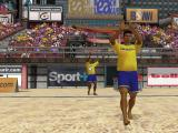 Ultimate Beach Soccer Windows Brazil enters the stadium