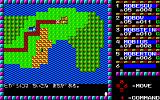 Phantasie PC-88 World map