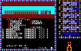 Phantasie PC-88 Oh wow... attacked by a horde of kobolds and ogres in a dungeon!