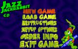 Jazz Jackrabbit CD-ROM DOS Menu