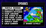 Jazz Jackrabbit CD-ROM DOS Episode Selection