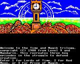 Time and Magik: The Trilogy BBC Micro Game selection