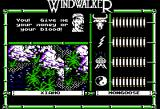 Windwalker Apple II So, this guy wants either my money or my blood..