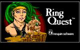 Ring Quest PC-88 Title screen
