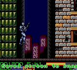 RoboCop 3 Game Gear Robocop Jumping