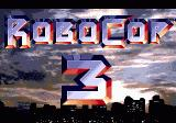 RoboCop 3 Genesis Title Screen