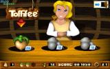 Toffifee: Fantasy Forest DOS Having a break at a shop. Let's buy some nuts (hitpoints) or stones (ammo).