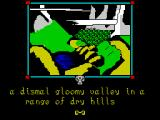 The Shadows of Mordor ZX Spectrum Gloomy valley (128k version)