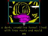 The Shadows of Mordor ZX Spectrum In a dark tunnel (128k version)