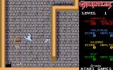 Gauntlet Atari ST The exit on the first level