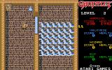 Gauntlet Atari ST A whole lot of ghosts behind that closed door!