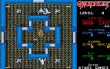 Gauntlet Atari ST A room with some keys and ghosts...