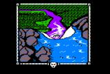 The Shadows of Mordor Apple II Waterfall