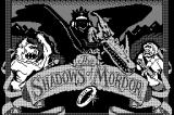The Shadows of Mordor Macintosh Title screen
