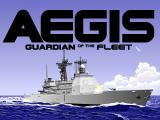 AEGIS: Guardian of the Fleet DOS Title screen