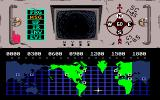Hacker Amiga Map screen showing the tunnels your robot travels through