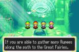 The Legend of Zelda: A Link to the Past/Four Swords Game Boy Advance I didn't know Ruppees were so important...