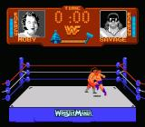 WWF Wrestlemania NES Jump kick from Savage