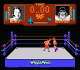 WWF Wrestlemania NES Honky Tonk Man gets hit