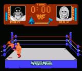 WWF Wrestlemania NES Randy Savage goes down