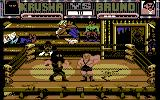 Sgt Slaughter's Mat Wars Commodore 64 Krusha is losing