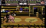 Sgt Slaughter's Mat Wars Commodore 64 Krusha takes on a Sumo wrestler in match two