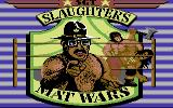 Sgt Slaughter's Mat Wars Commodore 64 Title screen