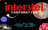 Empire: Wargame of the Century Amiga Interstel company title screen