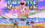 Empire: Wargame of the Century Amiga Title screen
