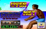 Over the Net! DOS Title Screen