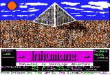 Inhumane Apple II Title screen