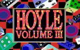 Hoyle: Official Book of Games - Volume 3 DOS Title Screen (16 Color EGA Version)