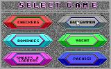 Hoyle: Official Book of Games - Volume 3 DOS Game menu. (16 Color EGA Version)