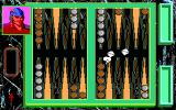 Hoyle: Official Book of Games - Volume 3 DOS Playing backgammon. (16 Color EGA Version)