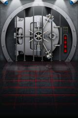 The Heist iPhone The closed vault.