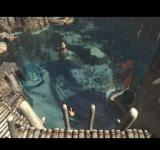 Riven: The Sequel to Myst PlayStation Lagoon below from high above