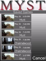 Myst Windows Mobile Game saves