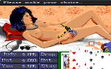 Playhouse Strippoker Amiga Judy is down to her panties