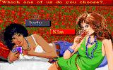 Playhouse Strippoker Amiga Choose to play against Judy or Kim