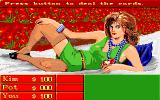 Playhouse Strippoker Amiga Starting a new game versus Kim