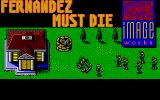 Fernandez Must Die Amiga Title screen