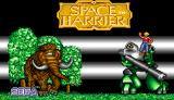 Space Harrier Amiga Title screen
