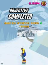 Avalanche Snowboarding J2ME Completed an objective