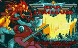 Star Command Amiga Title screen